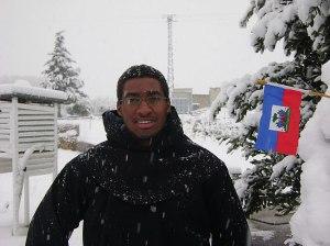 Anicet Samedi es haitiano y novicio agustino recoleto