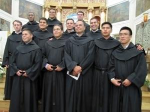 Jóvenes neoprofesos agustinos recoletos