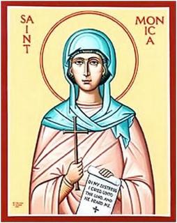 Resultado de imagen para inicio de novena a santa monica