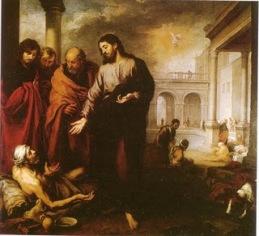 La acción sanadora de Jesús va unida a la oración dirigida al Padre