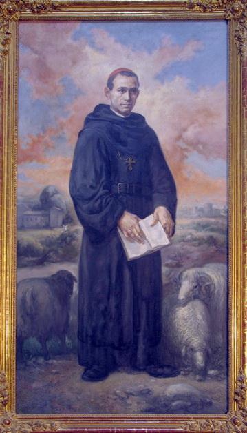 San Ezequiel Moreno, de Juan Barba. Convento, Marcilla