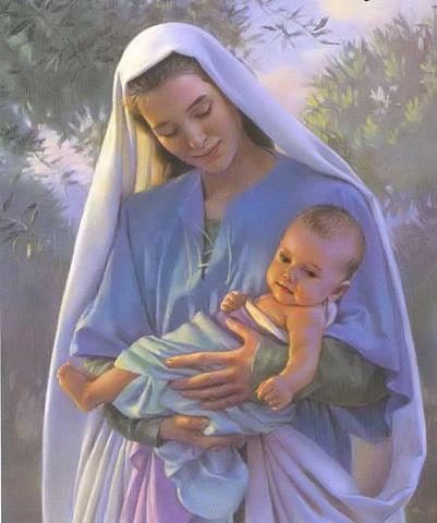 La Palabra tomó de María nuestra condición humana