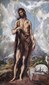 San Juan Bautista. El Greco