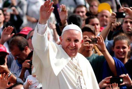 El Papa de la Evangelii  Gaudium, el Papa de la Alegría del Evangelio