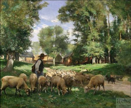 Como un pastor, el Señor cuida de todas sus ovejas