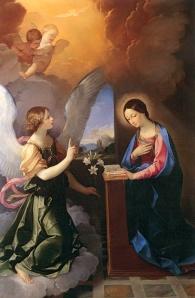 Ante la Voluntad de Dios, la Virgen tiene una sola respuesta: Amarla, quererla de corazón