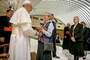 El Papa Francisco es religioso