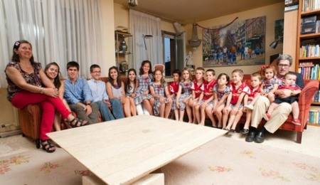 Familia supernumerosa