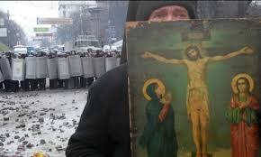 Valerse de símbolos religiosos para ratificar la gravedad de la protesta