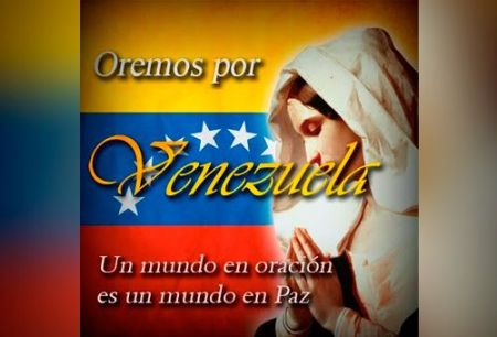 Oremos por Venezuela, por la paz y reconciliación