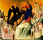 Jesús vence las tentaciones de Satanás
