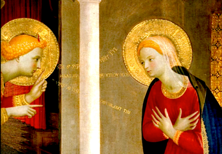 La Anunciación del Plan Salvífico y Encarnación del Verbo en la Virgen María: Comienzo de la salvación.