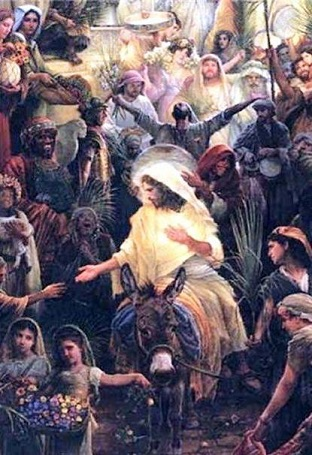 """""""Hosanna al Hijo de David, bendito el que viene en nombre del Señor"""""""