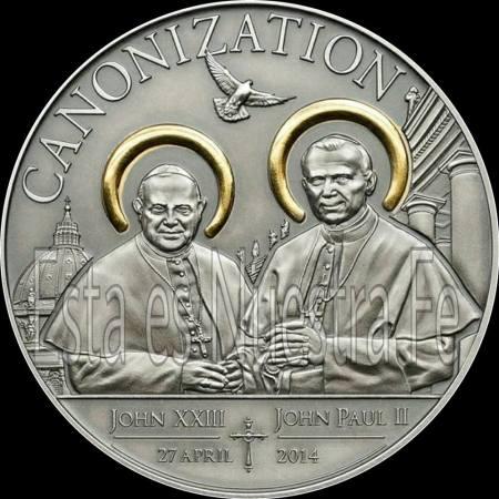 Medalla conmemorativa de la Canonización