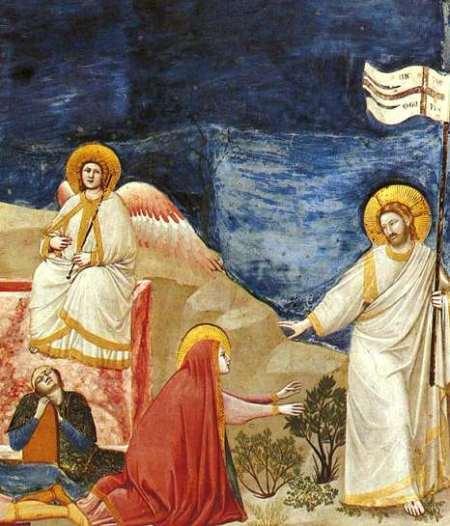 Jesús le dice: Mujer, ¿por qué lloras?, ¿a quien buscas?