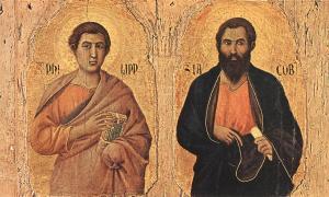 Santos Felipe y Santiago, apóstoles
