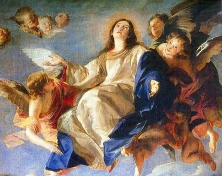 Elevada a los cielos en cuerpo y alma