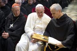 El Papa Francisco hace un retrato de san Agustín, como persona que busca...