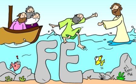 Pedro sobre las aguas