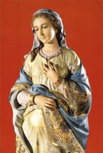 María, madre gestante del Niño Dios