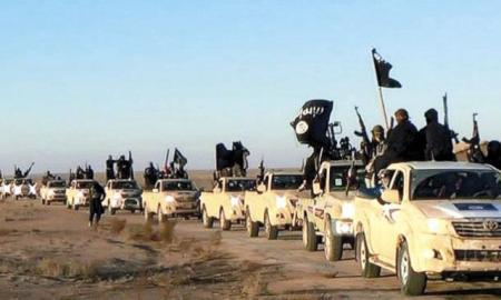 Milicianos del Estado Islámico