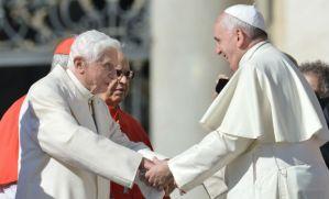 Encuentro del Papa Frco... con Bendicto