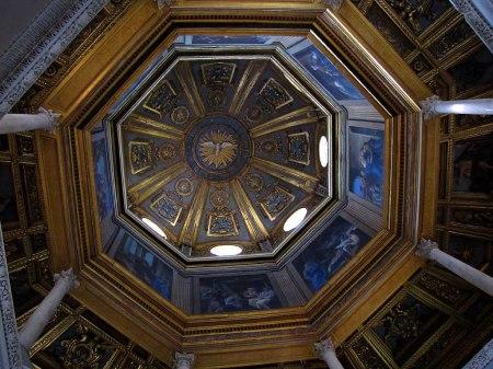Cúpula del Baptisterio de la Basílica de San Juan de Letrán, Roma
