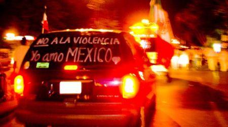 Yo amo México, no a la violencia