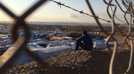 Campo de concentración en Irak
