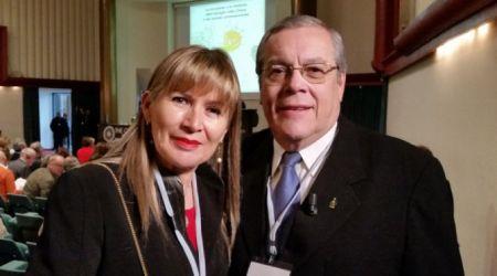 Los esposos paraguayos Víctor y Stella Domínguez,