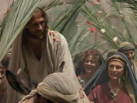 ¡Hosanna! ¡Bendito el que viene en el nombre del Señor! ¡Hosanna en las alturas!