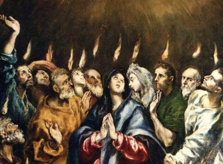 Pentecostés, Greco