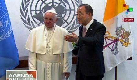 El Papa Francisco en la ONU