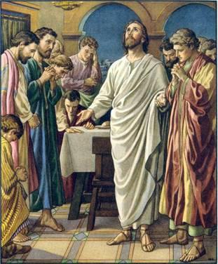 Te doy gracias, Padre, Señor del cielo y de la tierra, porque has escondido estas cosas a los sabios y a los entendidos, y las has revelado a la gente sencilla