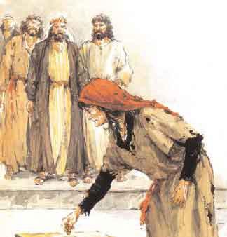 Esa pobre viuda ha echado en el arca de las ofrendas más que nadie