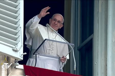 Saludo del Papa a