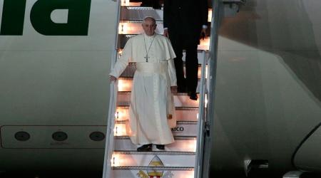 <Papa llega a México