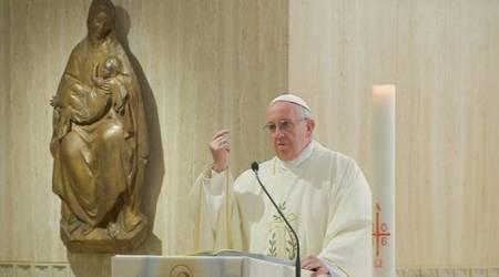El Papa en Sta. Marta...