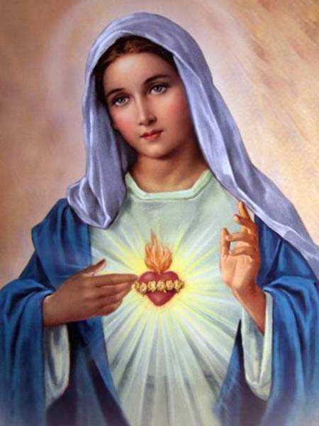 Oracion al Inmaculado Corazon de Maria para sanacion