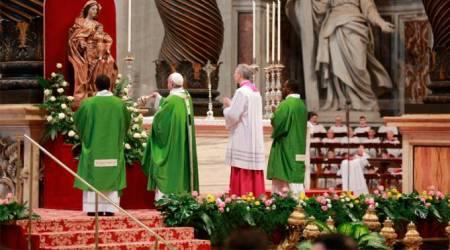 El Papa al comenzar la M