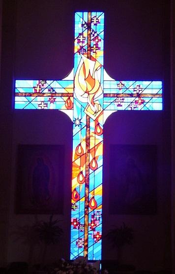 cruz-vitral